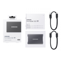 "Disco SSD Externo SAMSUNG T7 500Gb USB3.2 ""Grey"""