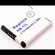 Bateria Recarregável COMPATIVEL CANON NB-11L 3.7V 600mAh