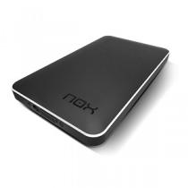 """Caixa Externa NOX Lite 2.5"""" S-ATA«»USB3.0 """"Black"""""""