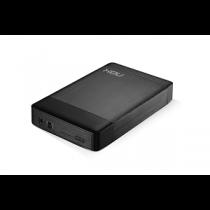 """Caixa Externa NOX Lite 3.5"""" S-ATA«»USB3.0 """"Black"""""""
