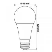 Lâmpada LED ORO E27 17W 1900lm 4000K