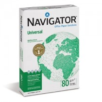 Papel NAVIGATOR Universal 210mm x 297mm A4 80g/m2 500 Folhas