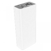 "EUROTECH PowerBank 5.200mAh USB 1.0A Max. ""White"""
