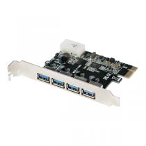 Placa PCI-E LOGILINK Controladora 4-Port USB3.0