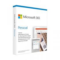 MICROSOFT Office 365 Pessoal PT (1 ano - 1 PC/Mac)
