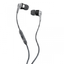 "Headset SKULLCANDY INK`D In-Ear Headphones+Mic ""Grey/Black"""