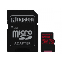 Micro Secure Digital Card KINGSTON Canvas React 128Gb (SD)