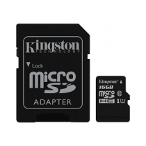 Micro Secure Digital Card KINGSTON SDHC Class10 16Gb (SD)