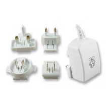 "RASPBERRY Power Supply Micro USB 5V 2.5A ""White"""