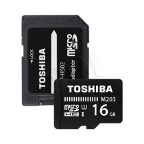 Micro Secure Digital Card TOSHIBA EXCERIA Class10 16Gb (SD)