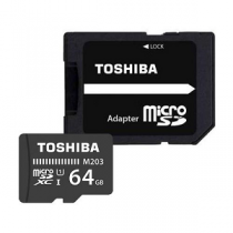 Micro Secure Digital Card TOSHIBA EXCERIA Class10 64Gb (SD)