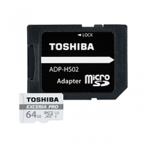 Micro Secure Digital Card TOSHIBA EXCERIA PRO 64Gb (SD)