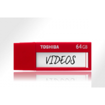 "USB Flash Disk TOSHIBA U302 TransMemory 64Gb USB3.0 ""Red"""