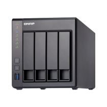 "QNAP TS-431X NAS 4x Hot-Swap 3.5"" DualCore 1.7GHz, 2Gb DDR3"