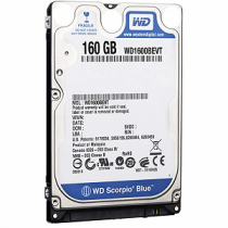 "Disco Rigido WESTERN DIGITAL 160Gb 2.5"" 5400rpm 8Mb S-ATA3G"