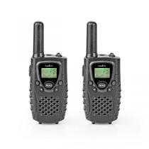 Walkie-Talkie NEDIS Range 8 Km, 8 Channels (Kit 2 Unidades)