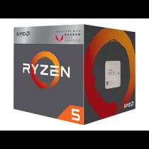 CPU AMD Ryzen 5 2400G 3.9GHz Max. SktAM4 6Mb Cache 65W