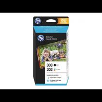Tinteiro HP nº 303 (Pack T6N02A+T6N01A) Z4B62E Black+Color