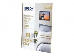 Papel EPSON Premium Glossy Photo A4 2x15Fls 255gr S042169